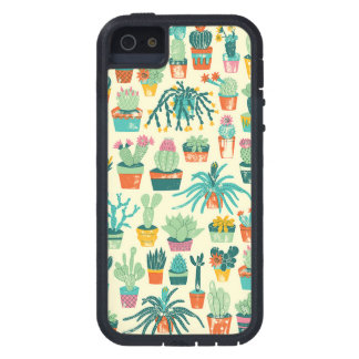 Colorful Cactus Flower Pattern iPhone 5 Case