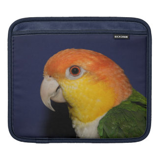 Colorful Caique Parrot iPad Sleeve