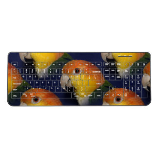 Colorful Caique Parrot Wireless Keyboard