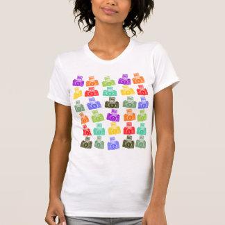 Colorful Cameras T-shirt