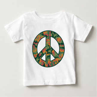 Colorful Camo Peace Baby T-Shirt