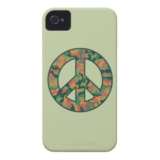 Colorful Camo Peace Case-Mate iPhone 4 Cases