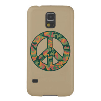 Colorful Camo Peace Cases For Galaxy S5