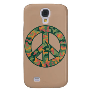 Colorful Camo Peace Galaxy S4 Covers