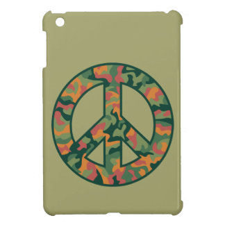 Colorful Camo Peace iPad Mini Case
