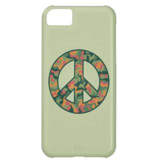 Colorful Camo Peace iPhone 5C Case