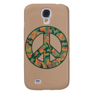 Colorful Camo Peace Samsung Galaxy S4 Cover