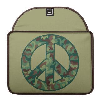 Colorful Camo Peace Sleeve For MacBooks