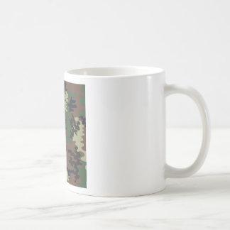 Colorful Camouflage seamless pattern Coffee Mug