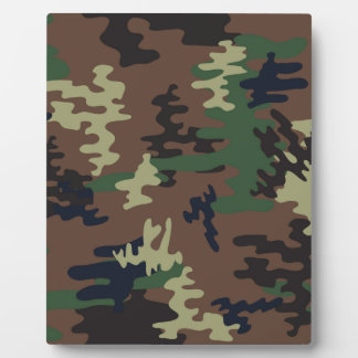 Colorful Camouflage seamless pattern Plaque