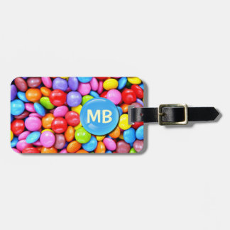 Colorful Candies Luggage Tag