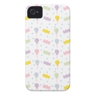 Colorful Candy and Stars iPhone 4 Cases