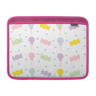 Colorful Candy and Stars MacBook Sleeves