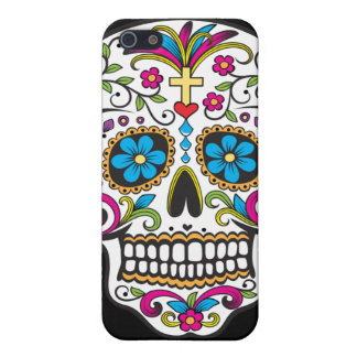 Colorful Candy and Sugar Skull iPhone 5 Cases