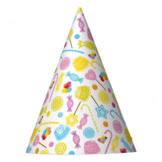 Colorful Candy Lollipop GumDrop Party Supplies Party Hat