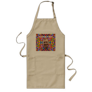Colorful Candy Pattern - Smarties, Long Apron