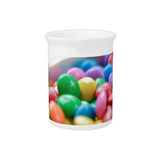 colorful candy pitcher