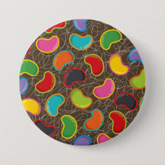 Colorful Candy Retro Jellybean Pop Button