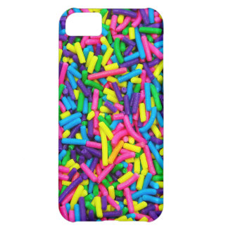 Colorful candy sprinkles print iPhone 5C case
