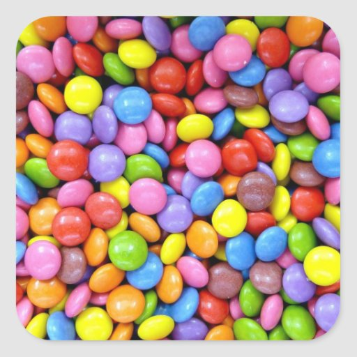Colorful Candy Stickers