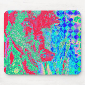 Colorful Canine Mouse Pad