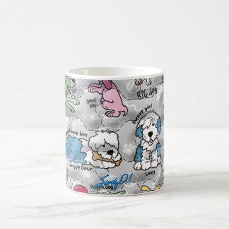 Colorful Canines Coffee Mug