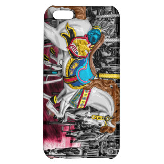 Colorful Carousel Horse at Carnival Case For iPhone 5C