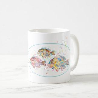 Colorful Carps Coffee Mug