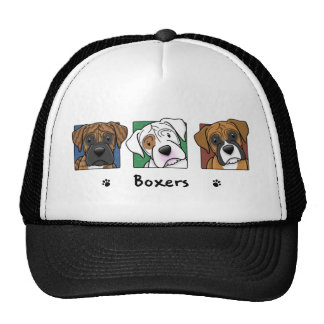 Colorful Cartoon Boxers Hat