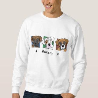 Colorful Cartoon Boxers Sweatshirt