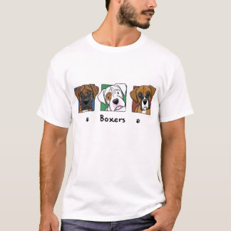 Colorful Cartoon Boxers T-Shirt