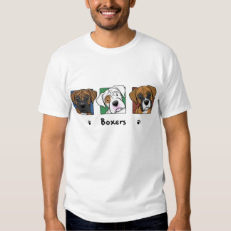 Colorful Cartoon Boxers T Shirts