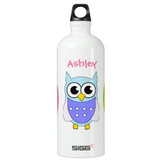 Colorful Cartoon Owls SIGG Traveller 1.0L Water Bottle