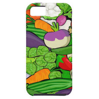 Colorful Cartoon Vegetables iPhone 5 Cover