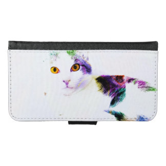 COLORFUL CAT CELL PHONE CASE