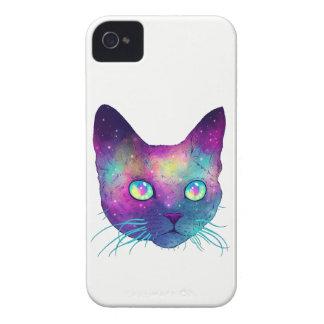 Colorful cat iPhone 4 case