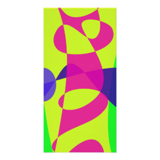 Colorful Caterpillar Custom Photo Card