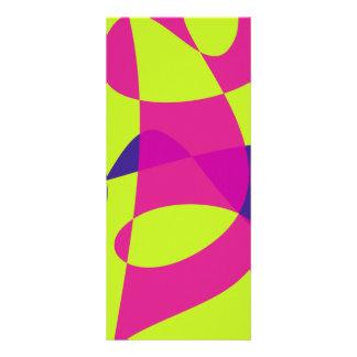 Colorful Caterpillar Full Color Rack Card