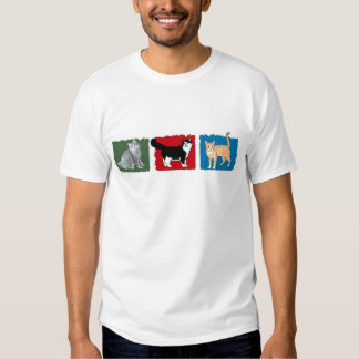 'Colorful Cats'  Apparel Tshirts