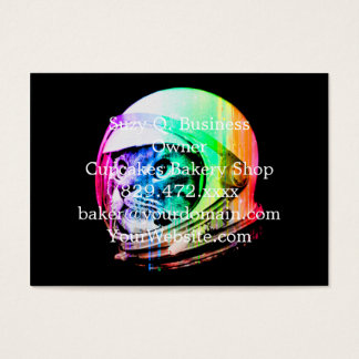 colorful cats - Cat astronaut - space cat Business Card