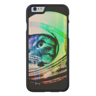 colorful cats - Cat astronaut - space cat Carved Maple iPhone 6 Case