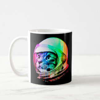 colorful cats - Cat astronaut - space cat Coffee Mug