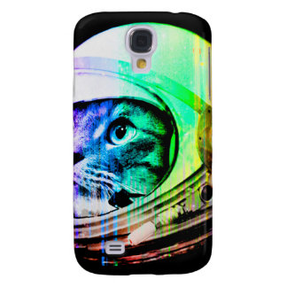 colorful cats - Cat astronaut - space cat Galaxy S4 Case