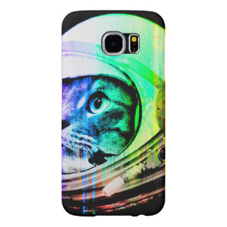 colorful cats - Cat astronaut - space cat Samsung Galaxy S6 Cases