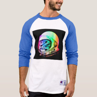 colorful cats - Cat astronaut - space cat T-Shirt