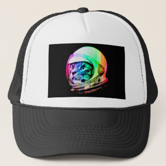 colorful cats - Cat astronaut - space cat Trucker Hat