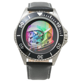 colorful cats - Cat astronaut - space cat Watch