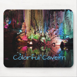 Colorful Cavern Mouse Pad