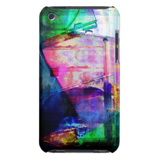Colorful CD Cases Collage iPod Touch Cover