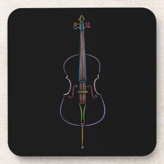 Colorful Cello Coaster